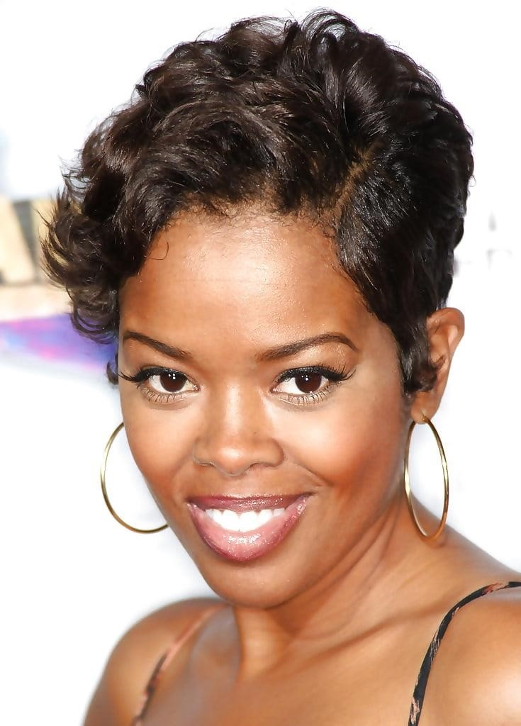 Different short hairstyles for black ladies-7646