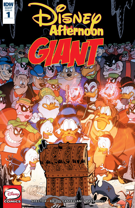 Disney Afternoon Giant #1-4 (2018-2019)