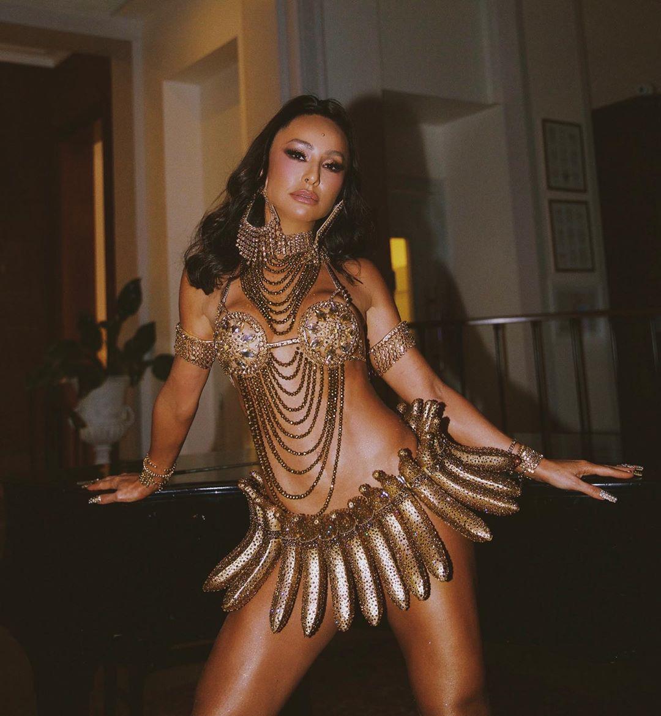 Sabrina Sato no carnaval 2020
