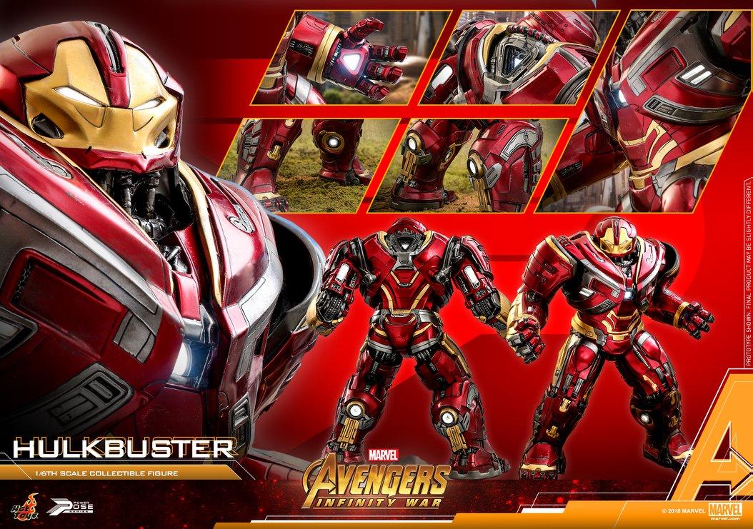 Avengers Infinity War - HulkBuster Mark 2 1/6 (Hot Toys) JyXpCM4t_o