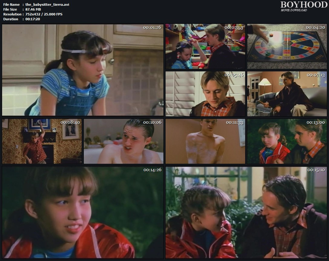 The Babysitter 2003-Tierra Abbott and Jeremy Lelliott