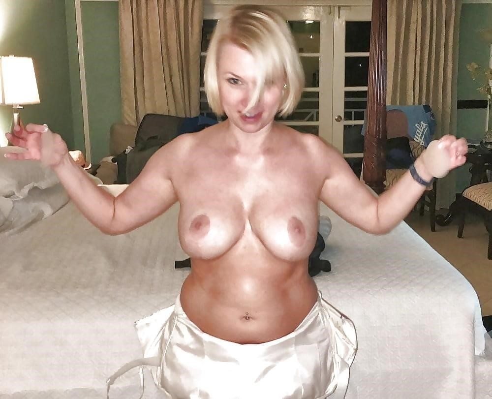 Short blonde with big tits-3682
