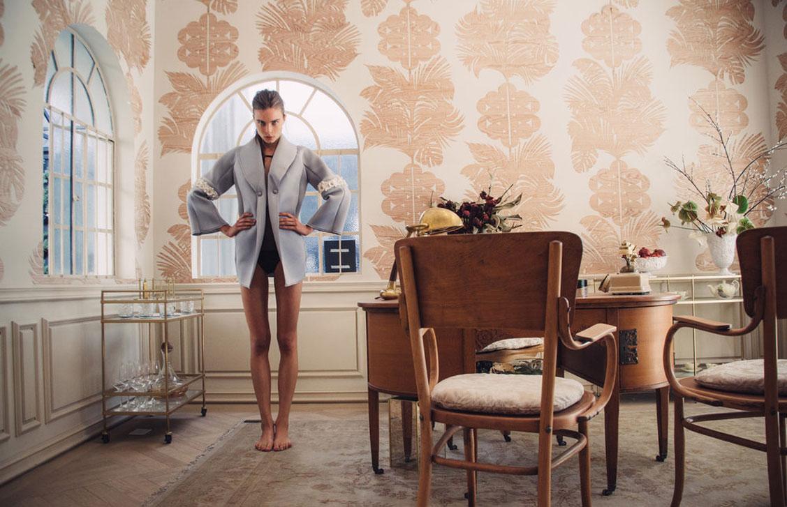 Анна Штольц тестирует модную одежду / фото 01