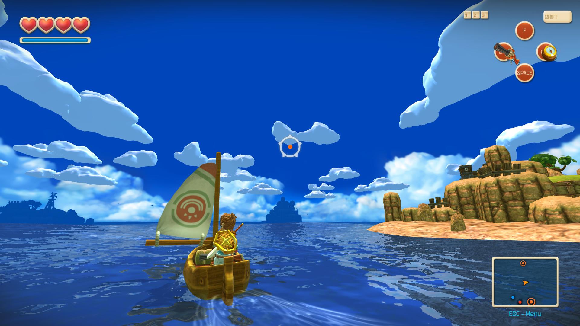 Oceanhorn: Monster of Uncharted Seas Captura 1