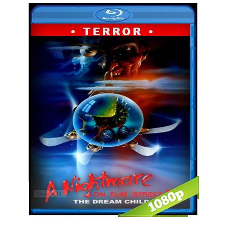 descargar Pesadilla En La Calle Del Infierno 5 [1989][BD-Rip][1080p][Trial Lat-Cas-Ing][Terror] gratis