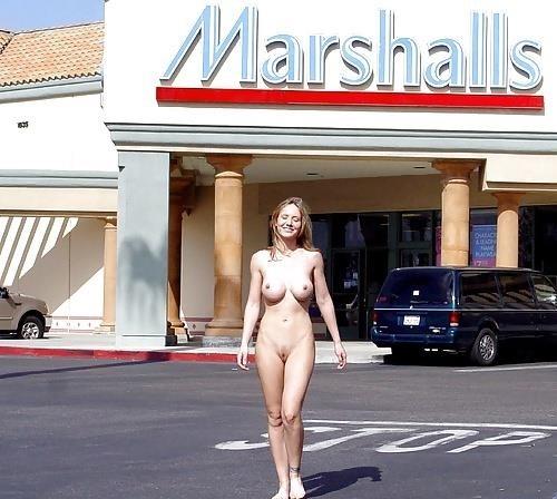 Amateur women naked in public-8532
