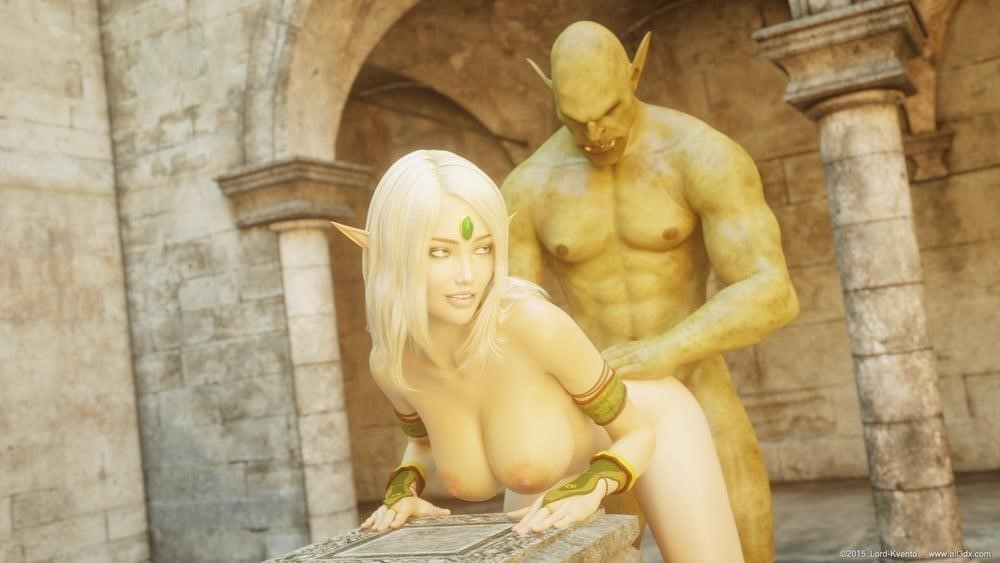 Sexy anime elf girl-7013