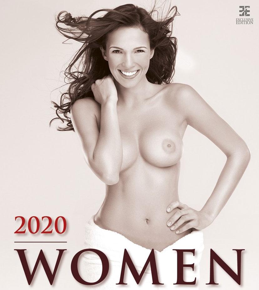 Сексуальные обнаженные девушки в эротическом календаре на 2020 год / обложка