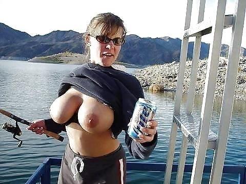 Busty public nudity-5515