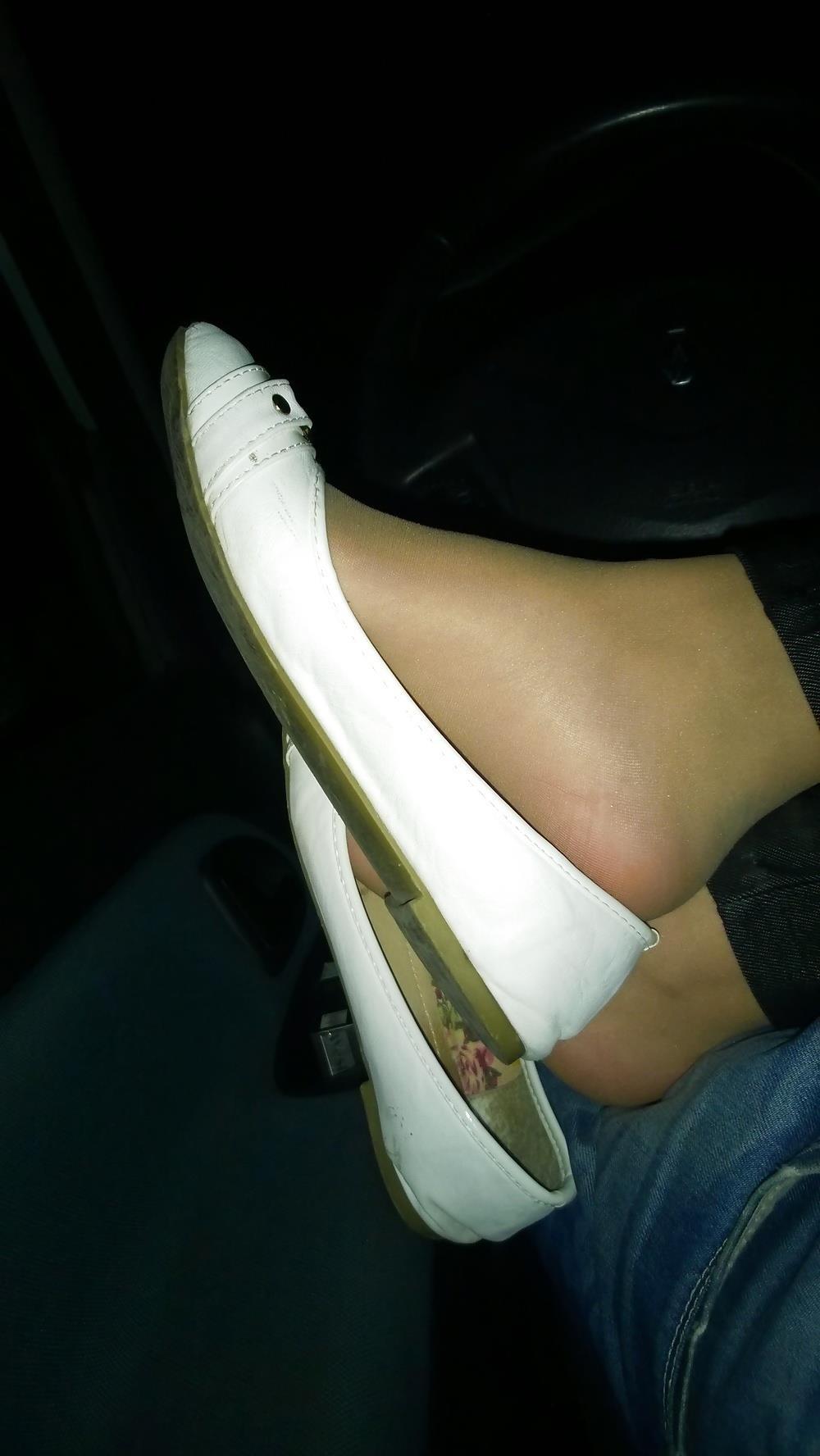 Lesbian foot fetish nylon-6615