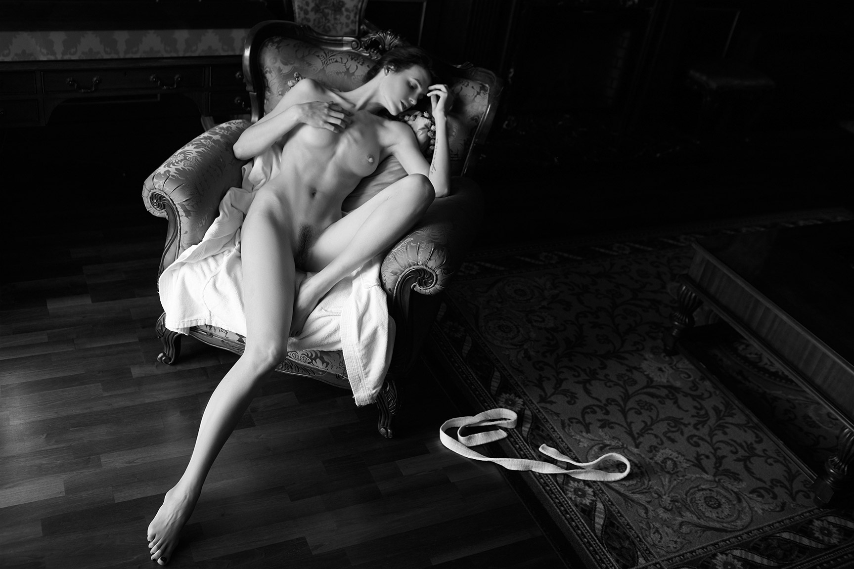 Настя Пех / Nastya Peh nude by Arthur Kaplun