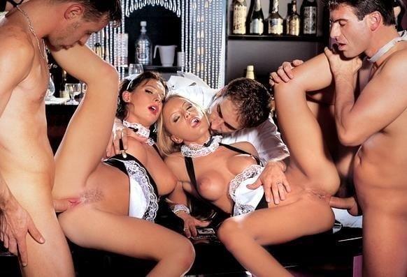 Hot sex foursome-5556