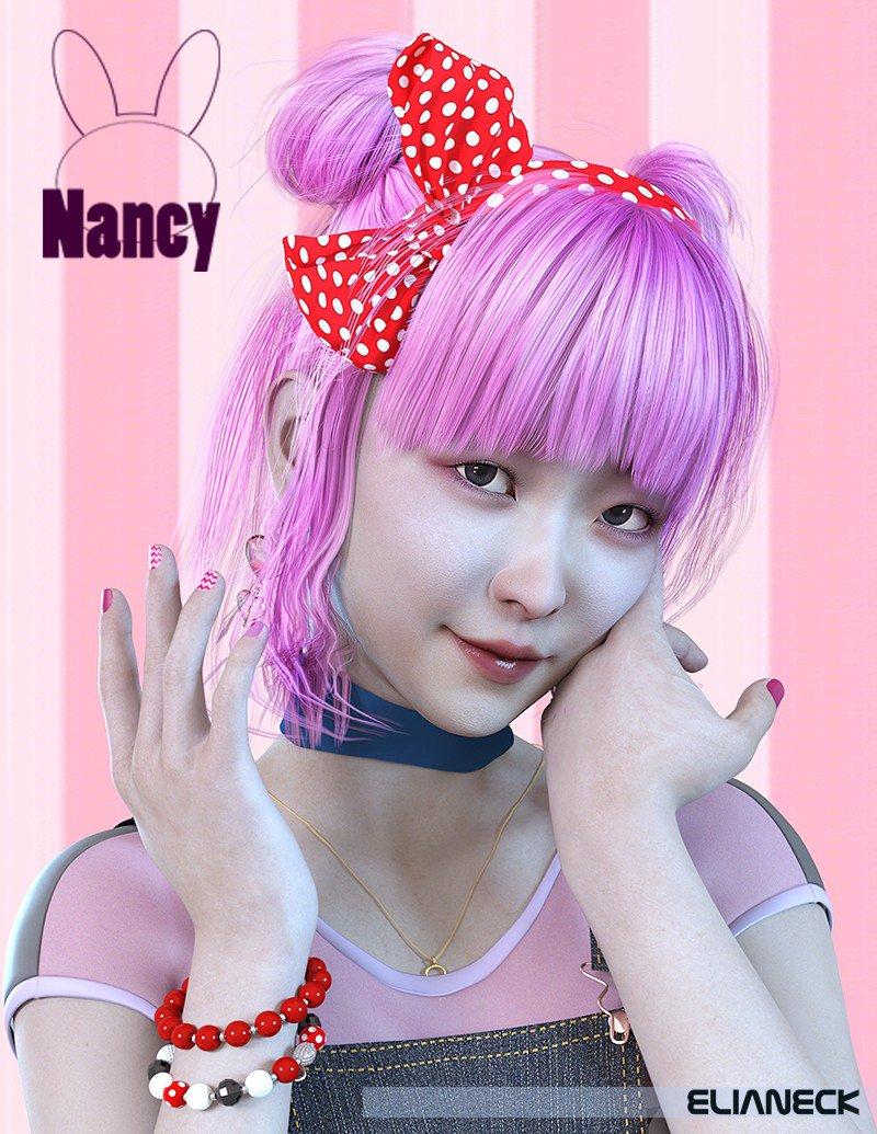 Nancy for Genesis 8 Female