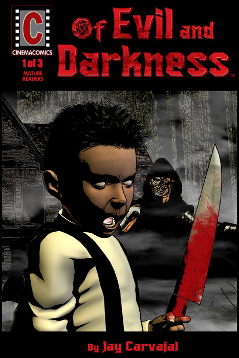 Of Evil and Darkness #1-3 (2009) Complete