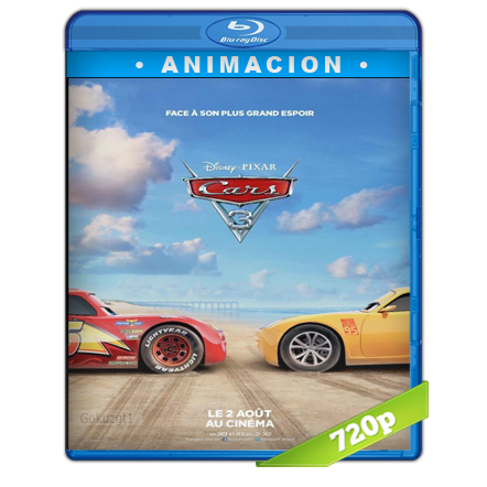 Cars 3 (2017) BRRip 720p Audio Trial Latino-Castellano-Ingles 5.1
