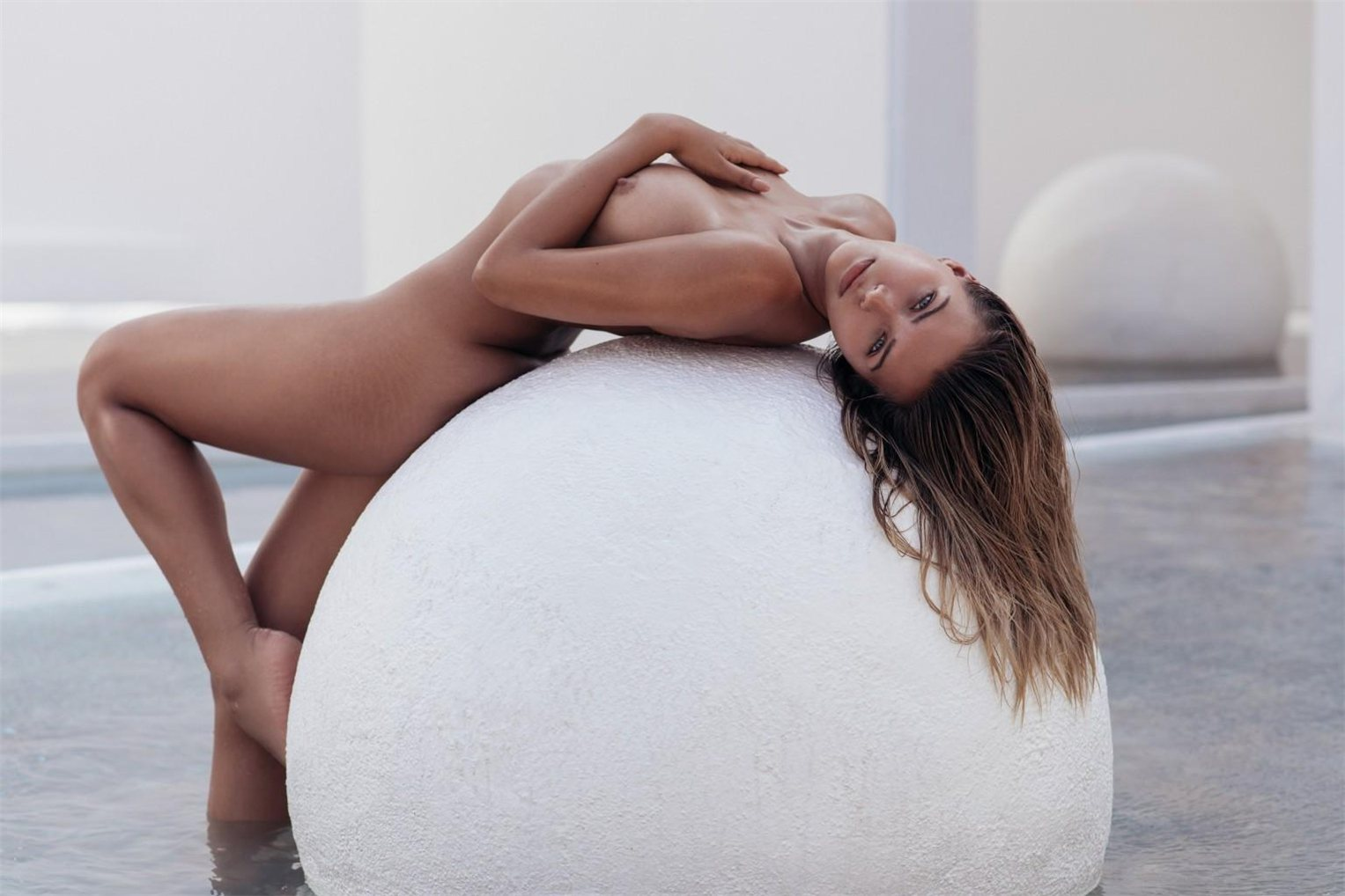 Sandra Kubicka by Christopher Von Steinbach - Playboy US march/april 2018
