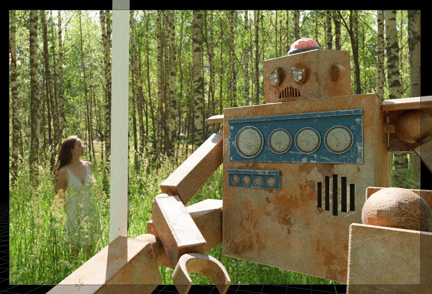 Robot Encounter – Camera Angle Selection
