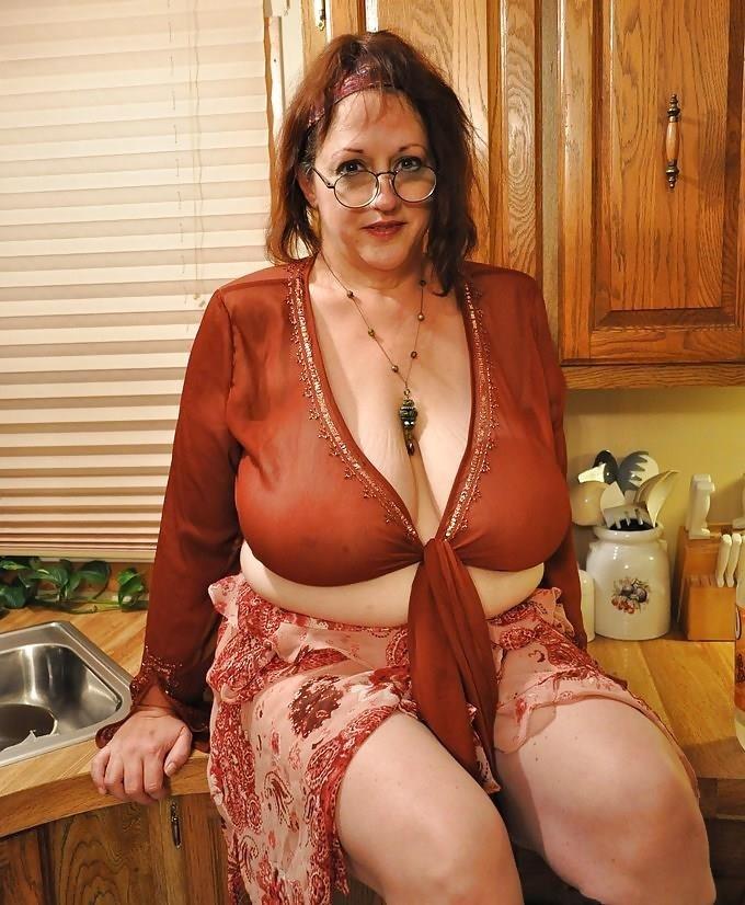 Granny big tit pics-7105