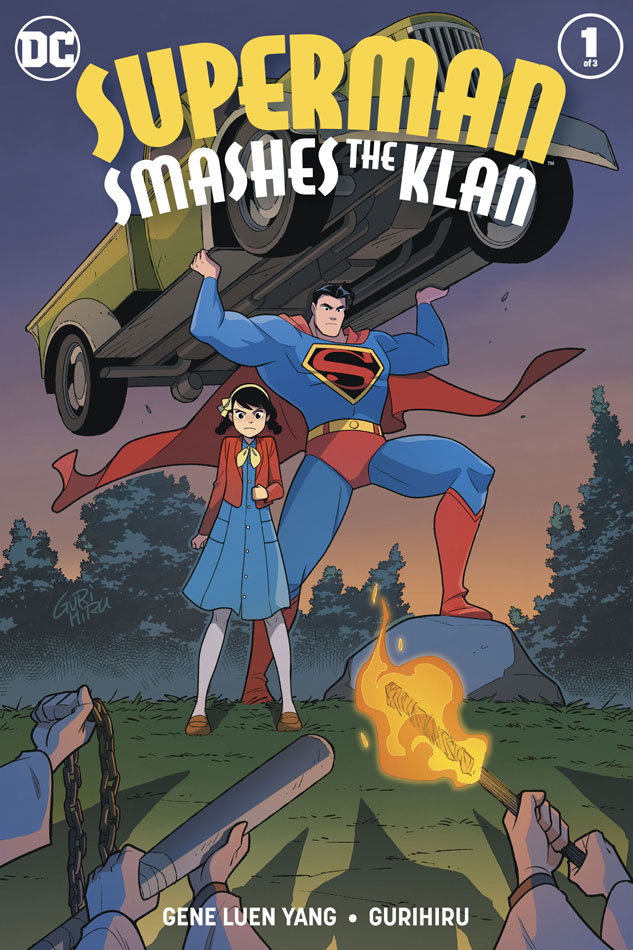 Superman Smashes The Klan #1-3 (2019-2020) Complete