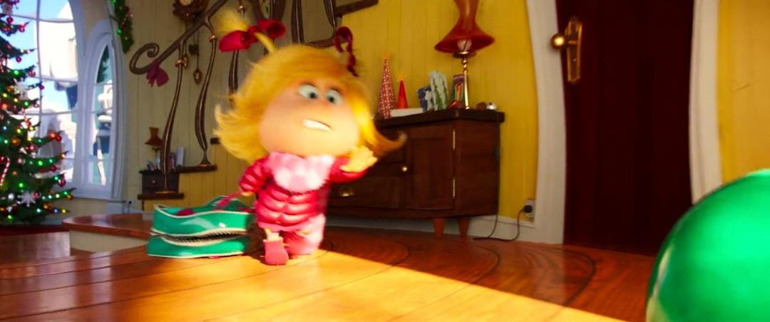 The Grinch (2018) 720p BluRay x264 DD5 1 {Dual Audio}{Hindi+English} KMHD