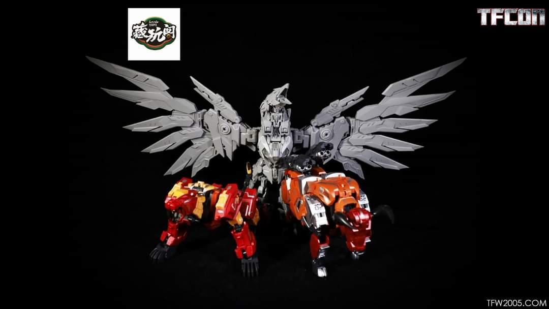 [Cang Toys][Toyworld] Produit Tiers - Thunderking/Chiyou - aka Predaking/Prédaroi (Prédacons) - Page 3 L2yfaXYb_o