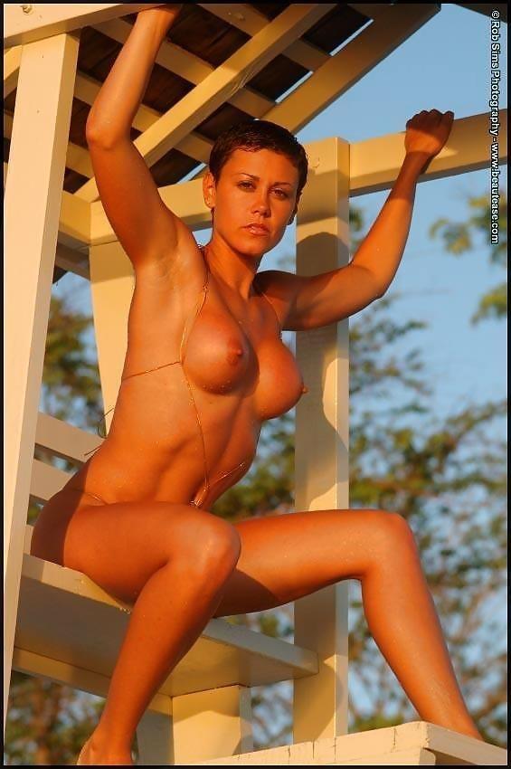 Beautiful fit naked women-5834