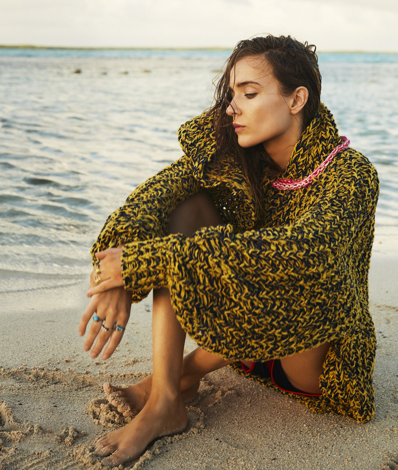 Lynn Palm by Katelijne Verbruggen / Marie Claire Netherlands june 2018
