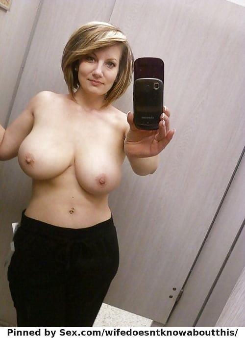 Big tits nude selfie-4139