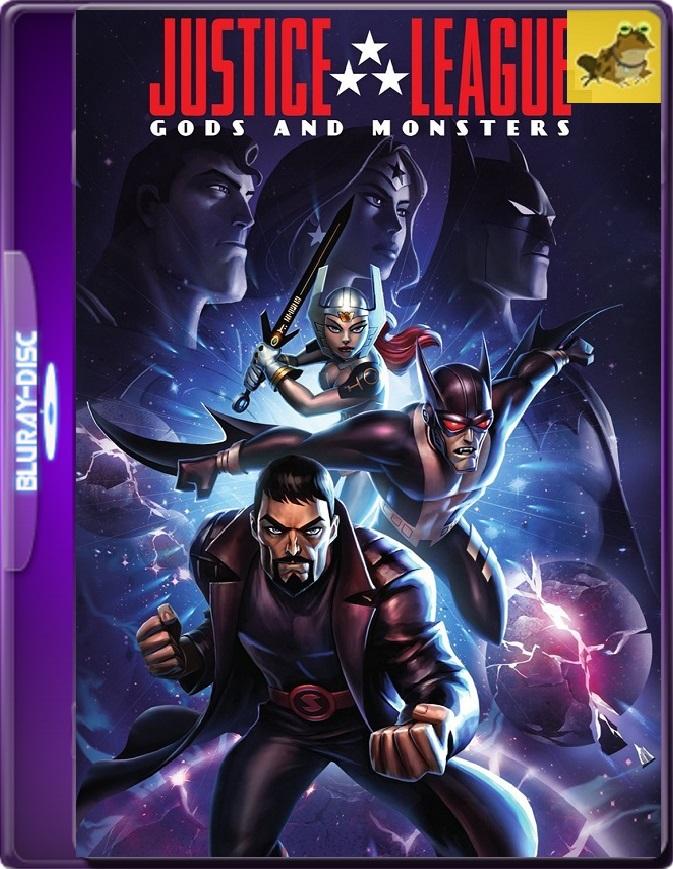 La Liga De La Justicia: Dioses Y Monstruos (2015) Brrip 1080p (60 FPS) Latino / Inglés