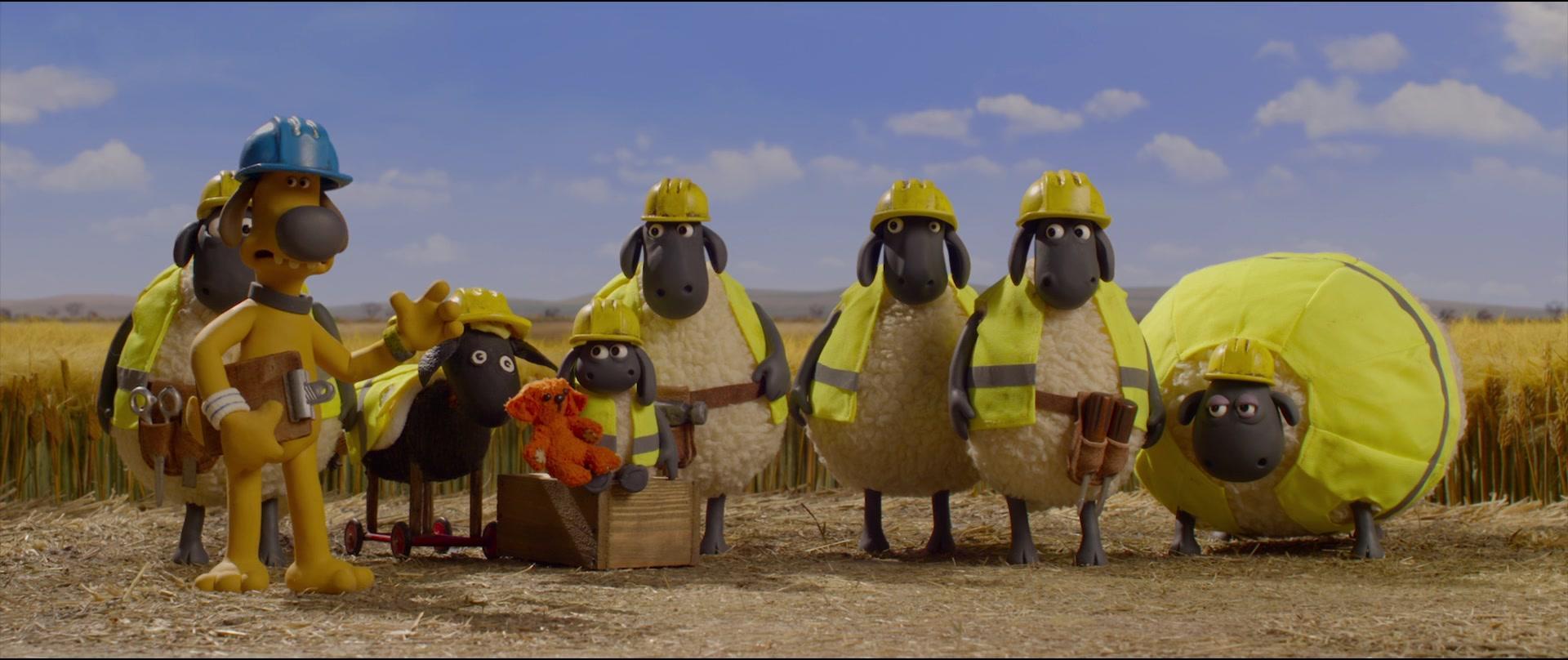 A Shaun the Sheep Movie Farmageddon 2019 1080p BluRay X264-AMIABLE