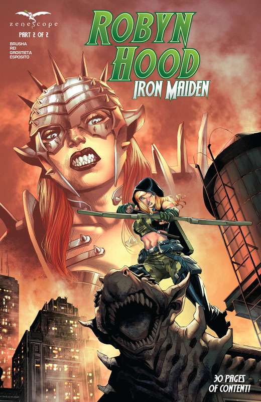 Robyn Hood Iron Maiden 01-02 + Cult of the Spider (2021) Complete