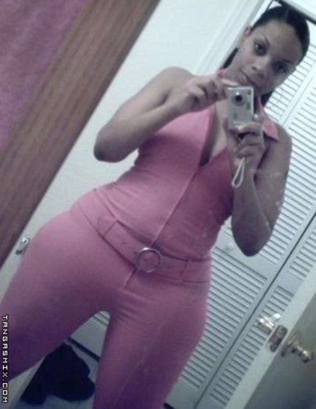 Black curvy nude women-4581