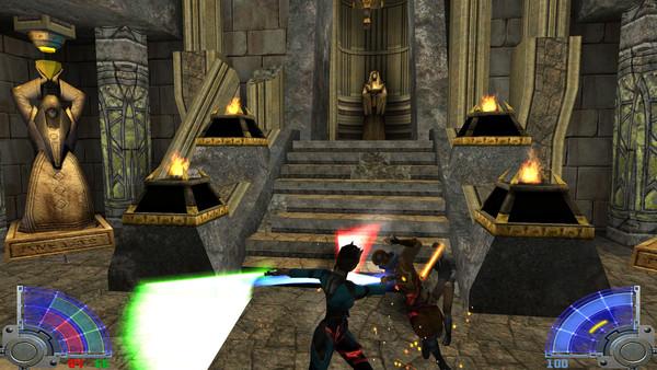 Star Wars: Jedi Knight – Jedi Academy Captura 1