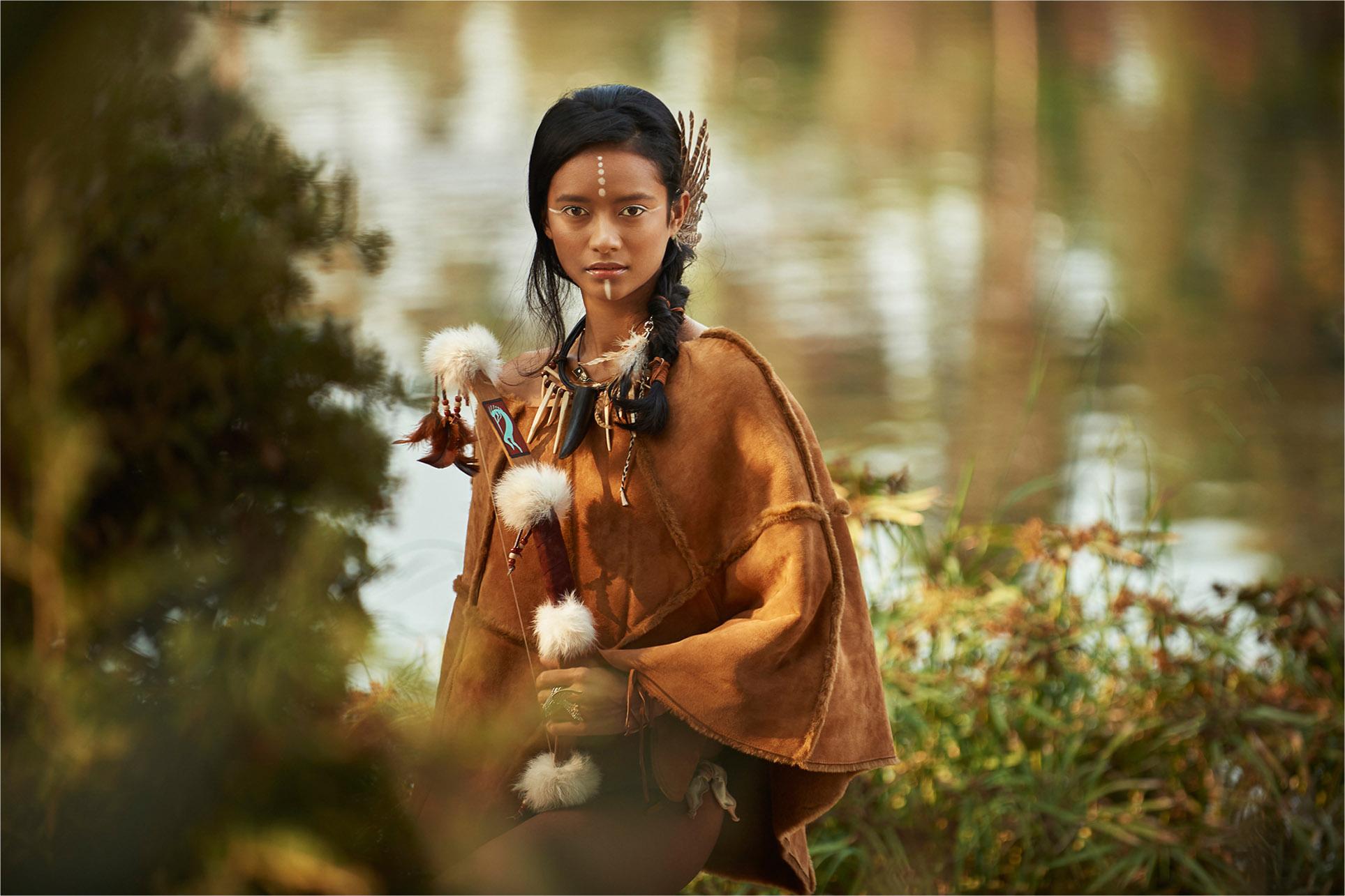 Tribal Warrior by Dmitry Bocharov