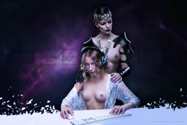 эротический календарь Ideco на 2017 год / февраль / фотограф Валентин Копалов