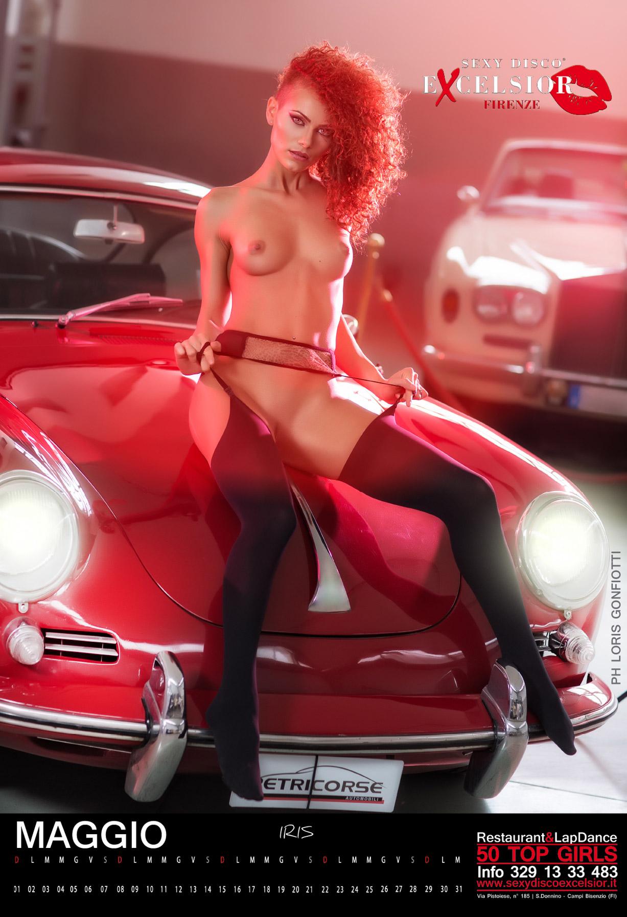 эротический календарь ночного клуба Sexy Disco Excelsior 2016 calendar - Iris