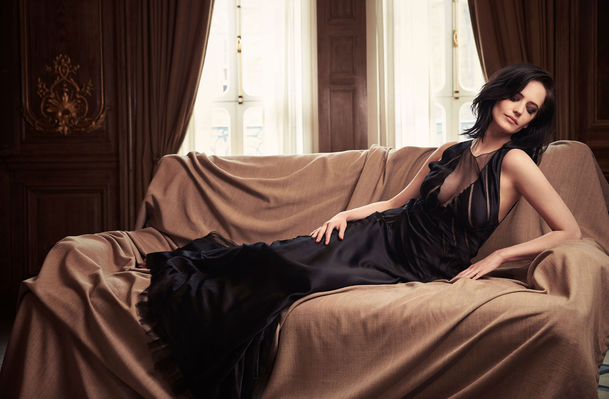 промосъемка Евы Грин для киностудии 20th Century Fox / фото 11