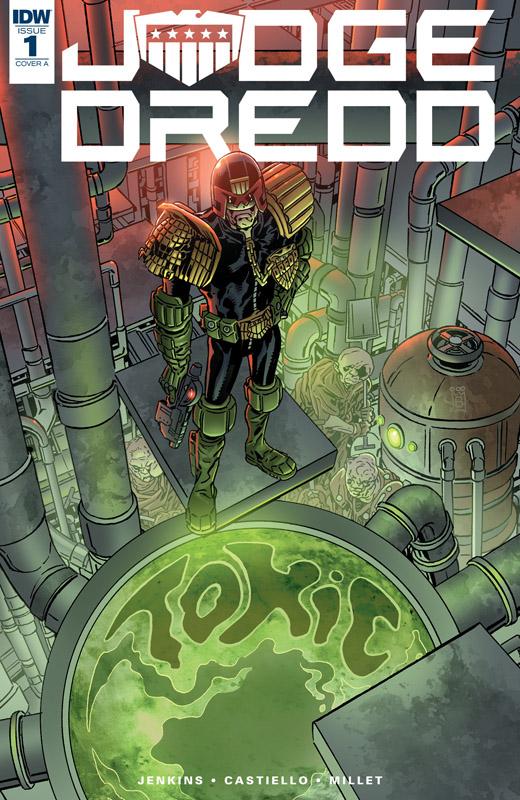 Judge Dredd - Toxic! #1-4 (2018-2019)