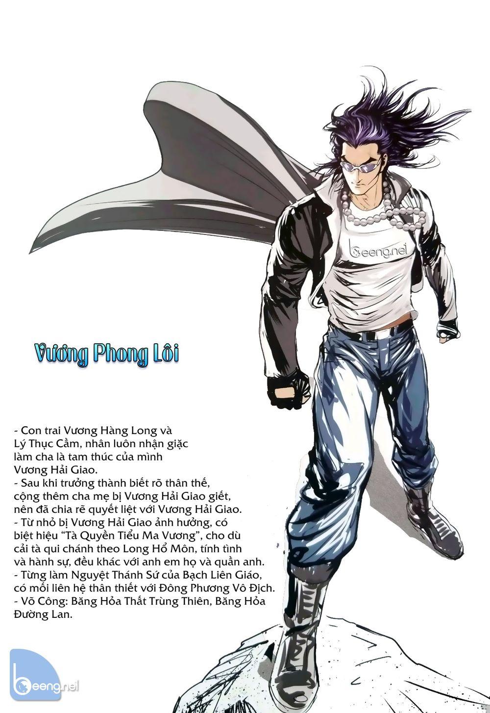 Vương Phong Lôi truyền kỳ Chap 0 . Next Chap 1