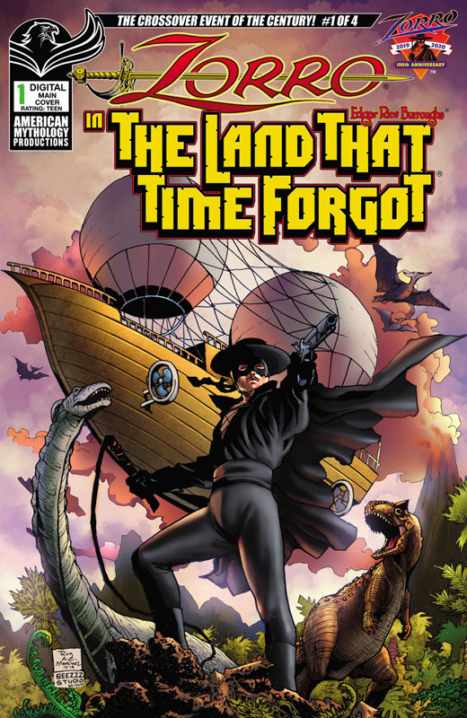 Zorro in the Land That Time Forgot 01-03 (2020-2021)