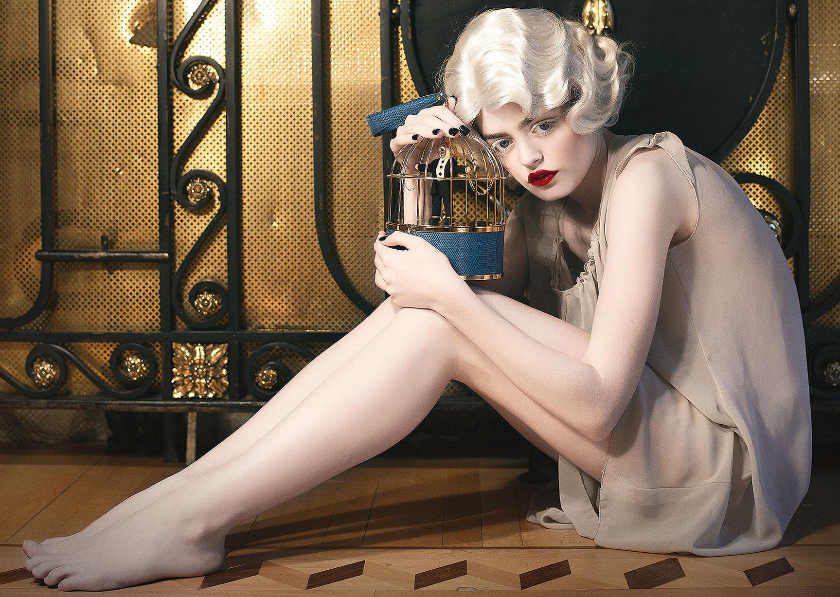 Модная коллекция люксовых сумочек Ines Figaredo / фото 01