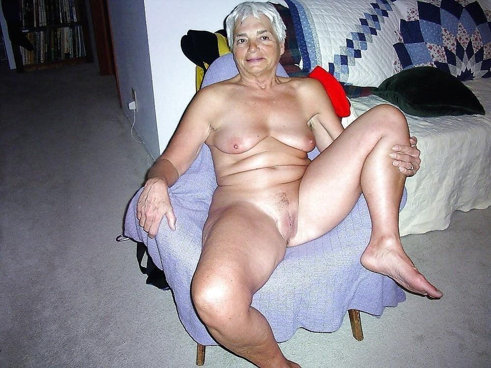Chubby granny naked-8879