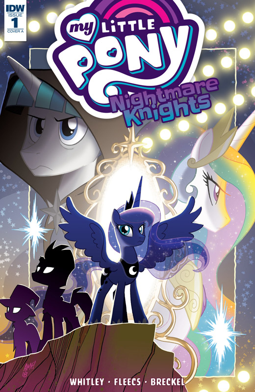 My Little Pony - Nightmare Knights #1-3 (2018)