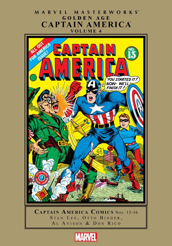 Marvel Masterworks - Golden Age Captain America v02 (2008)