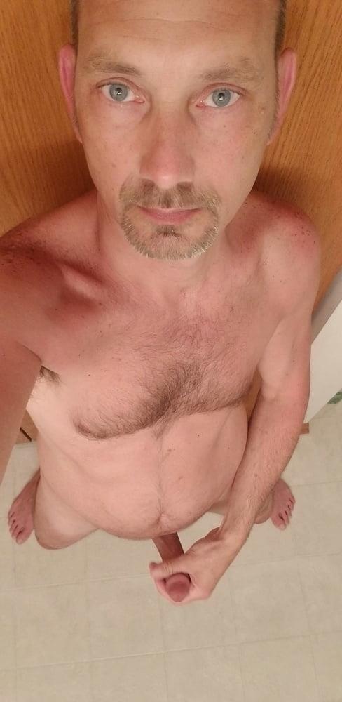 Beach nude selfie-7572