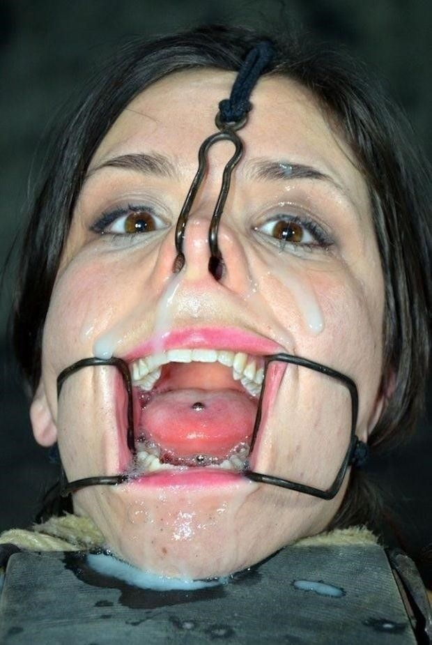 Open mouth bukkake-8065