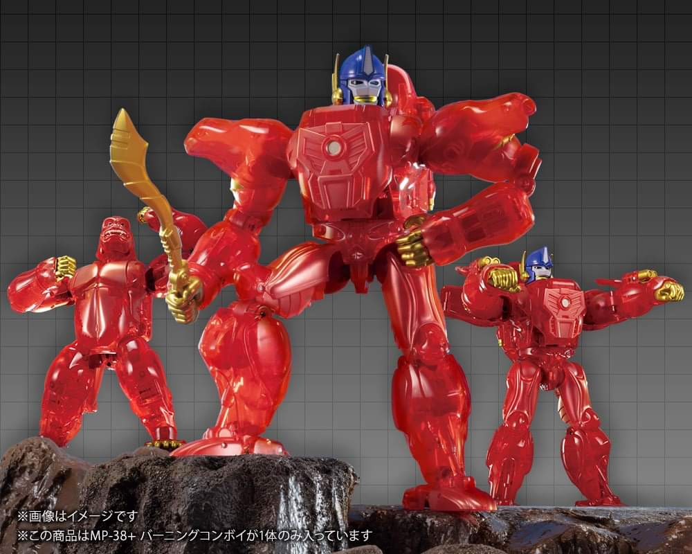[Masterpiece] MP-32, MP-38 Optimus Primal et MP-38+ Burning Convoy (Beast Wars) - Page 4 NyY1L3uO_o
