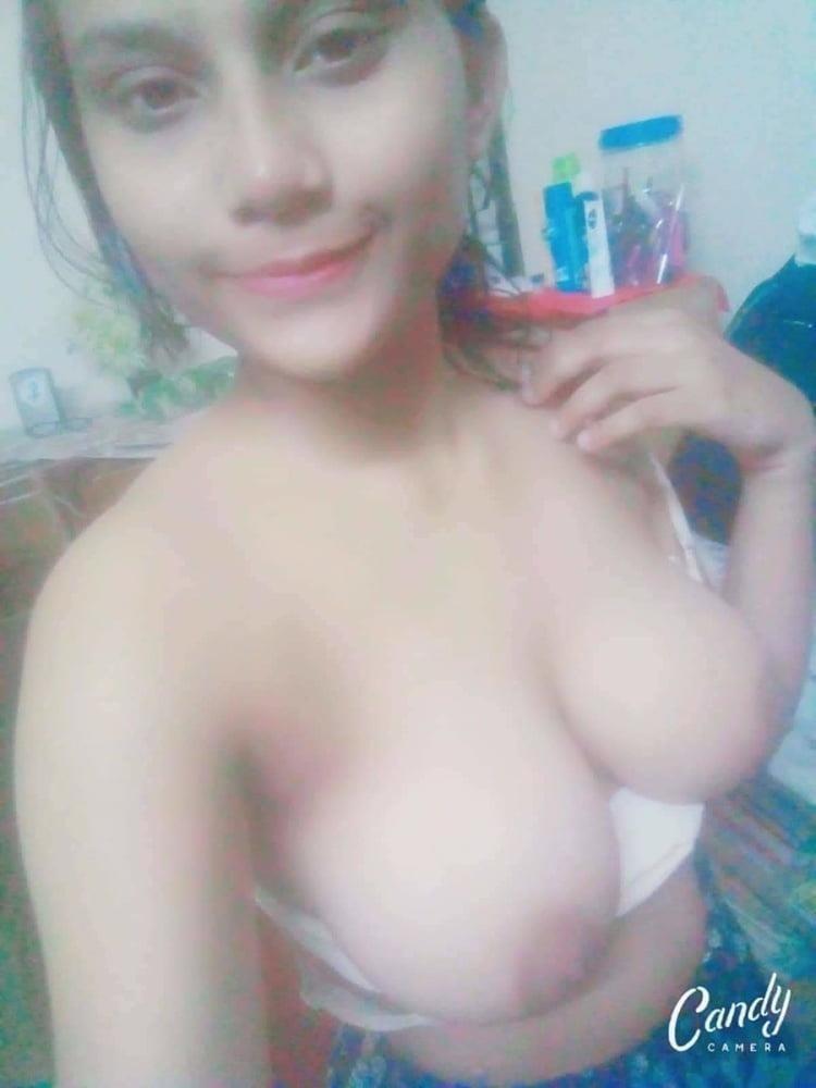Naked school girl selfie-3850
