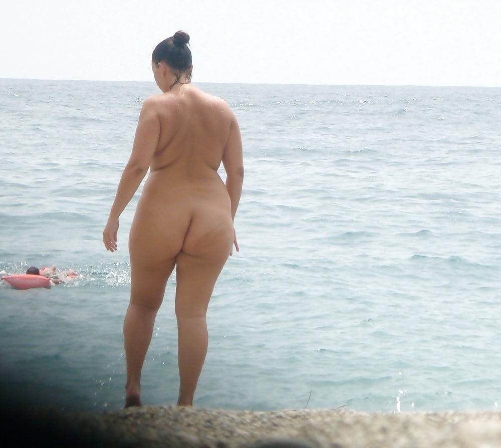 Mature nude beach pic-8668