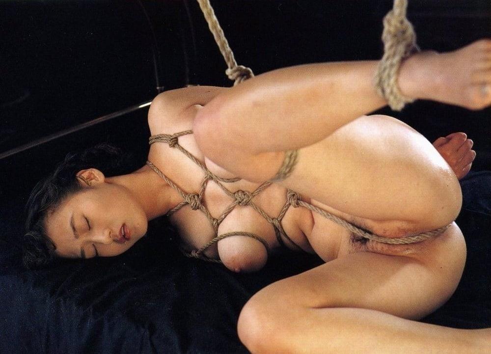 Asian bondage bukkake-8759